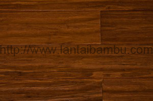 Strand Woven Carbonized Handscrapped Bamboo Flooring